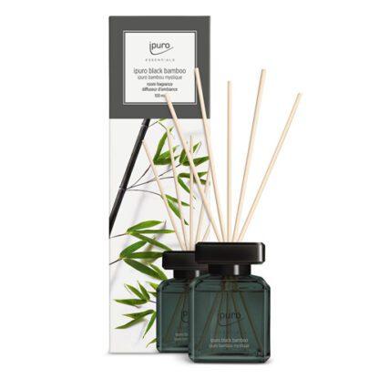 black bamboo, ipuro, geurstokjes, essentials,