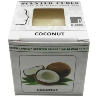 coconut, scented cubes, waxmelts, scentchips,