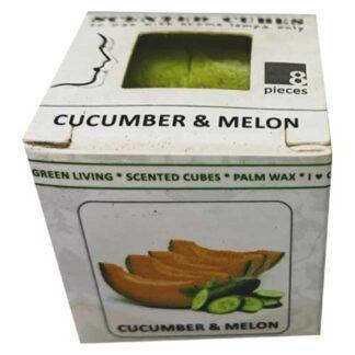 cucumber & melon, scented cubes, waxmelts, scentchips,