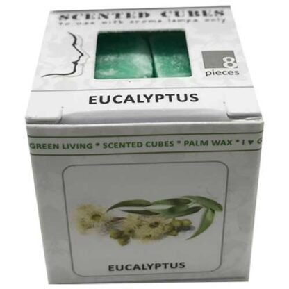 eucalyptus, scented cubes, waxmelts, scentchips,