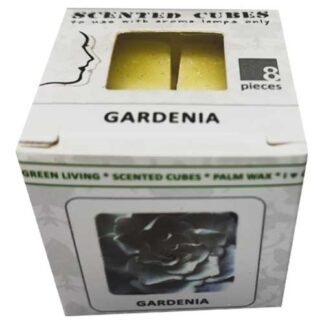 gardenia, scented cubes, waxmelts, scentchips,