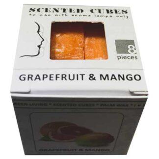 grapefruit & mango, scented cubes, waxmelts, scentchips,