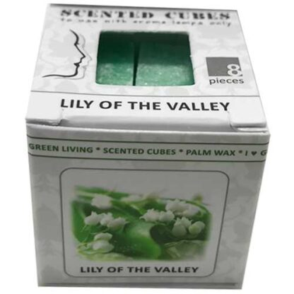 lily of the valley, lelietjes van dalen, scented cubes, waxmelts, scentchips,