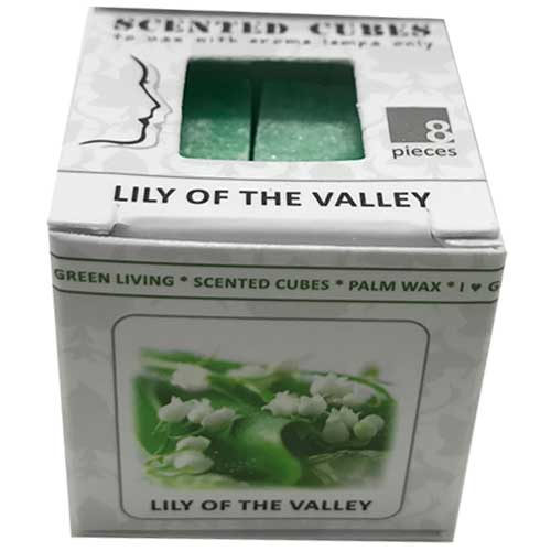 cubes, Lily-of-the-Valley,lelietje van dalen,