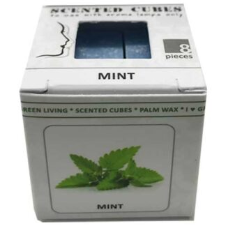 mint, scented cubes, waxmelts, scentchips,