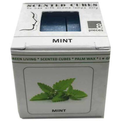 munt, mint, scented cubes, waxmelts, scentchips,