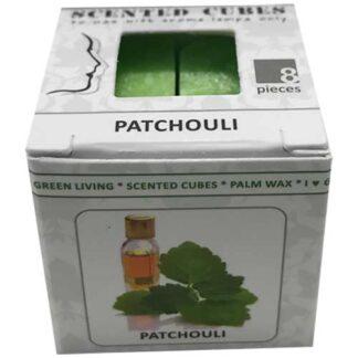 patchouli, scented cubes, waxmelts, scentchips,