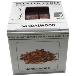 sandalwood, scented cubes, waxmelts, scentchips,