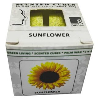 sunflowers, scented cubes, waxmelts, scentchips,