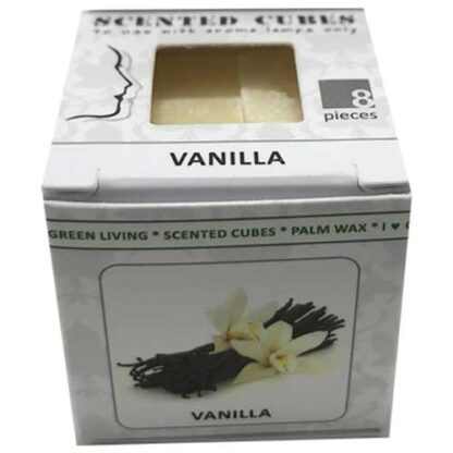 vanilla, scented cubes, waxmelts, scentchips,