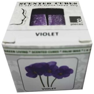 violet, scented cubes, waxmelts, scentchips,