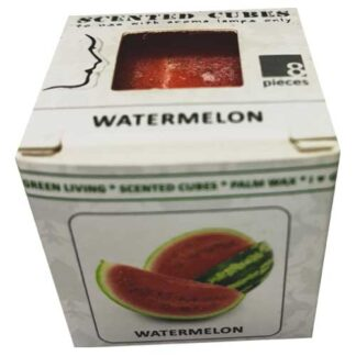 watermelon, scented cubes, waxmelts, scentchips,