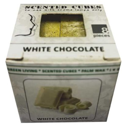 white chocolate, scented cubes, waxmelts, scentchips,