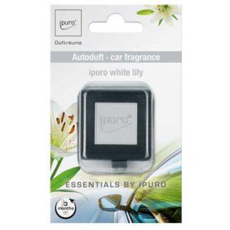 white lily,ipuro, autogeur, autoparfum, carscents,