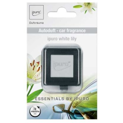 white lily, ipuro, autogeuren, carscents,