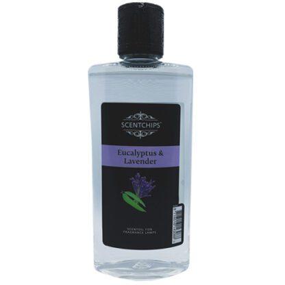 eucalyptus, lavender, eucalyptus & lavendel, scentchipsolie, scentoil, lampe berger, geurolie, lont met steentje, lampe berger,