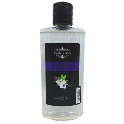 lavendel & jasmine, lavendel, jasmine, jasmijn, scentchipsolie, scentoil, lampe berger, geurolie, lont met steentje, lampe berger,