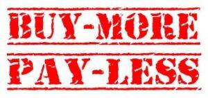 stapelkorting, buymore-payless, aromashop, voordelig online shoppen,