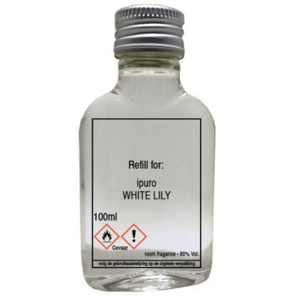 white lily, ipuro, navulling, refill, essentials,