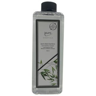 refill, navulling, black bamboo, ipuro, essentials,