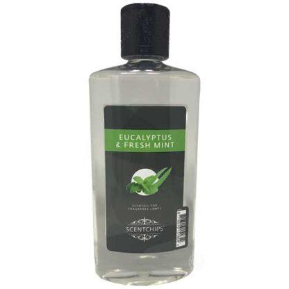 scentchips, scentoil, lampe berger, geurolie, geurolie met lont, eucalyptus, eucalyptus & fresh mint,