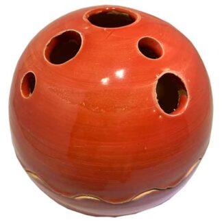 uni, rood, bolletje, sierpotje, ceramicas, decojar,