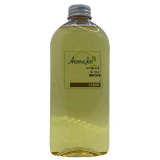 ceder, aromajar, wellness line, spageuren, spa-aroma,
