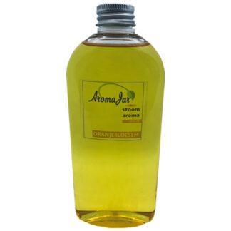 oranjebloesem, aromajar, wellness line, stoomgeuren, stoom-aroma,