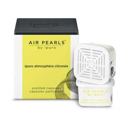 capsule, atmosphere citronee, ipuro, airpearls, cupjes,