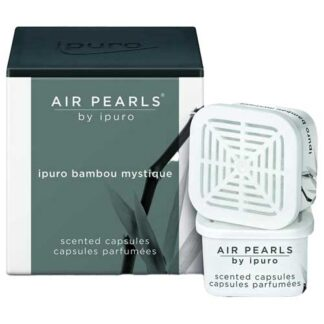 ipuro, airpearls, cupjes, bambou mistique,, black,