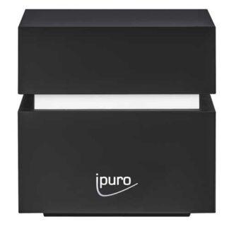 mini cube, ipuro, airpearls, diffuser, zwart,
