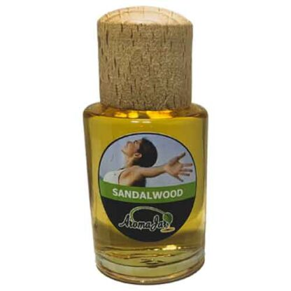 sandalwood, aromajar, etherische olie, essentiele olie, diffuserolie, geurolie,