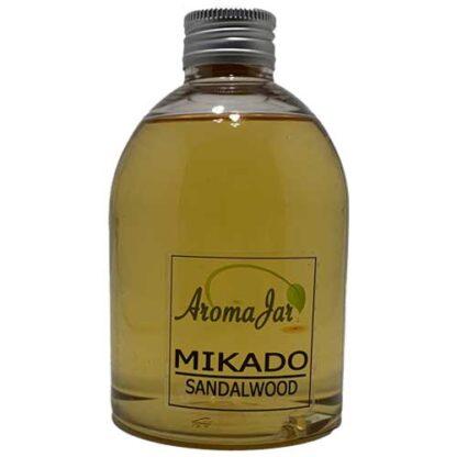 sandalwood, ECO system, aromajar, geurolie, geurstokjes, navulling, refill,
