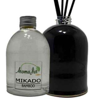 black bamboo, bamboo, eco, geurstokjes, navulling, refill,