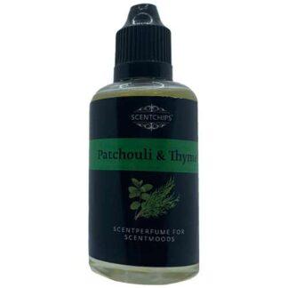 patchouli, thyme, scentchips, scentparfume, diffuserolie,