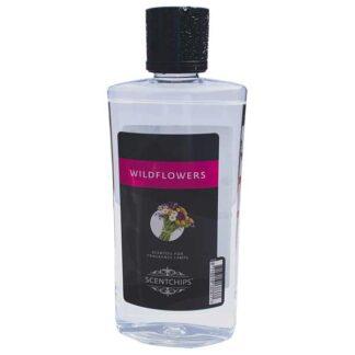 wildflowers, scentchipsolie, scentoil, lampe berger, geurolie, lont met steentje, lampe berger,