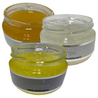 actiepakket, vochtafdrijvend, limoen, orange, tijm, aromajar, geurpotje, refill, navulling, olori, aromas naturales,